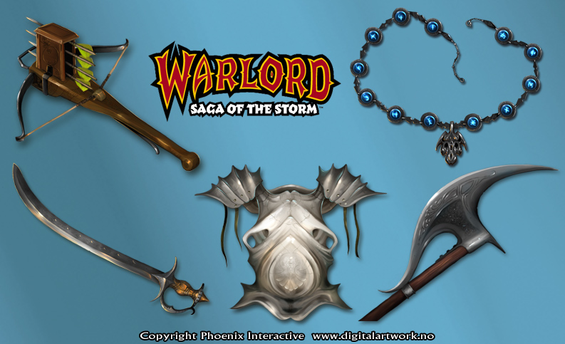 Various items CC - Warlord CCG by Shockbolt