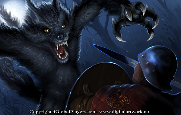 Werewolf attack by Shockbolt