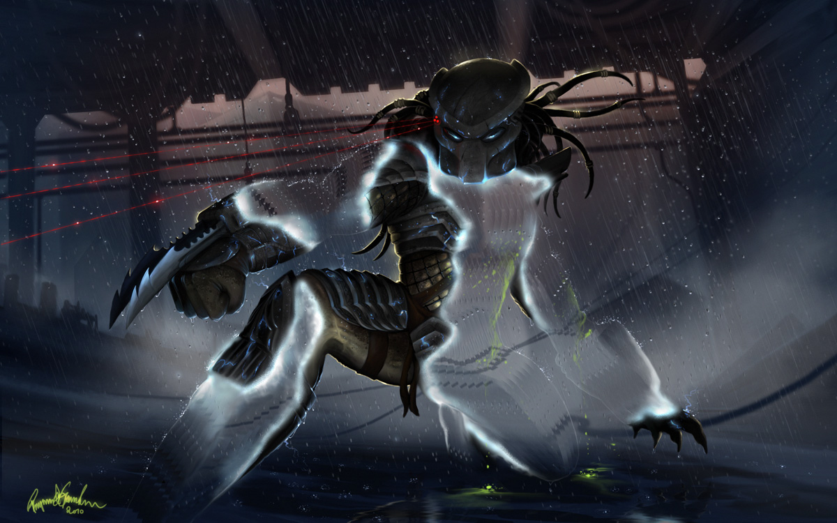 Predator - Wounded tiger by Shockbolt