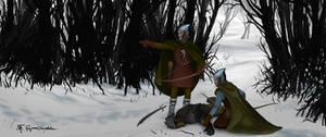 Silvan elves of Mirkwood by Shockbolt