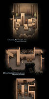 Game concept artwork - 2D easy puzzle game - A