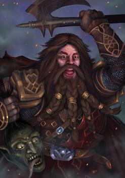 Dwarven warrior