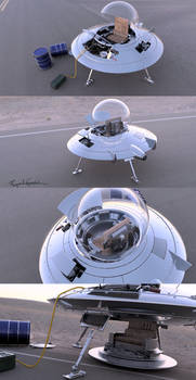 Area 51 Vehicle X1