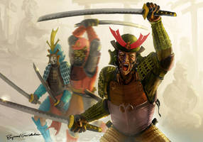 Three Samurai by Shockbolt