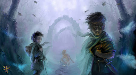 The journey to Mordor by Shockbolt