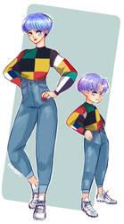 Mama's boy? Yeah, so what? by KumaBuns