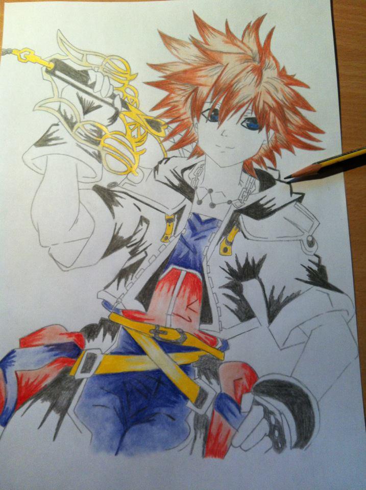 Sora from Kingdom Hearts by IxXNikkiXxI