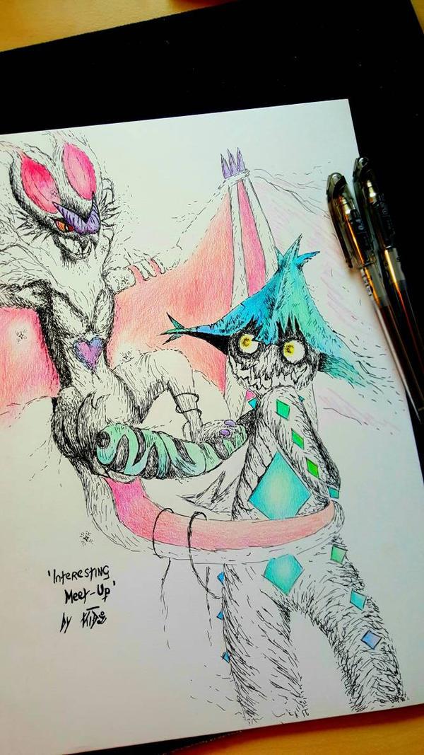 'Interesting meet-up' Pokemon Philosophy by CreepyGamerKid