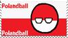 Polandball Stamp Small by PixelDevianArt