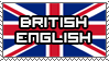 British English (United Kingdom) by PixelDevianArt