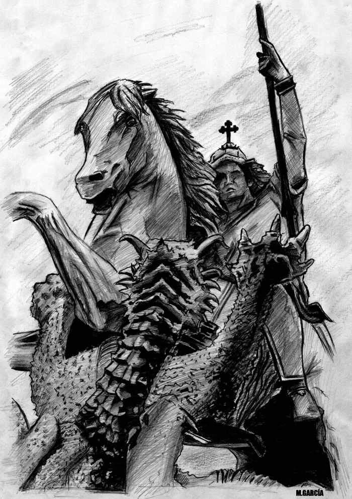 St george by manuelgarcia on deviantart for Tattoo shops in st george
