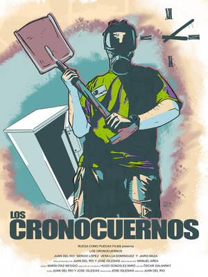 LOS CRONOCUERNOS poster, v1 by manuelgarcia