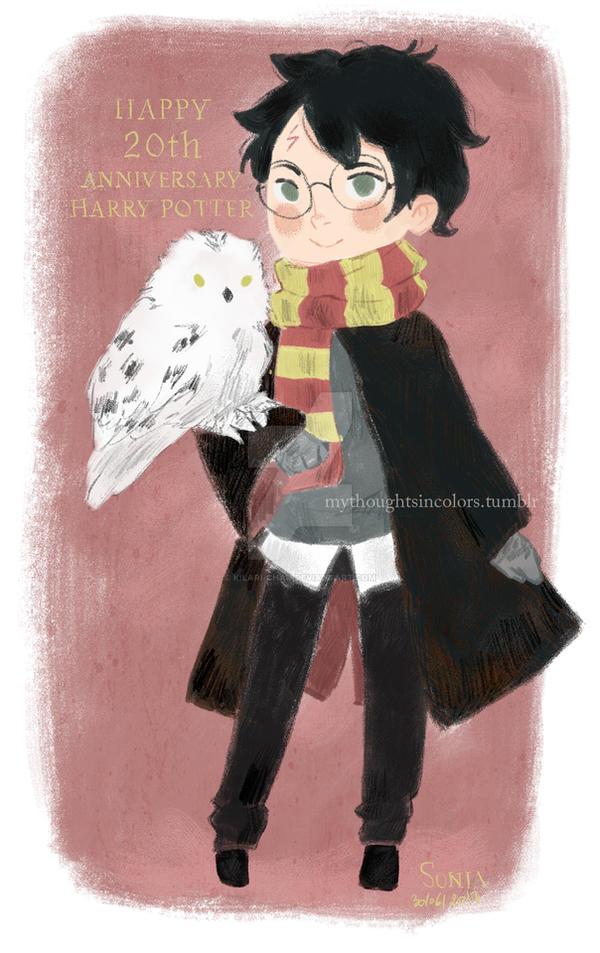 Happy 20th anniversary Harry Potter! by kilari-chan