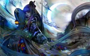 Moon Light Firefly by DigitalOme