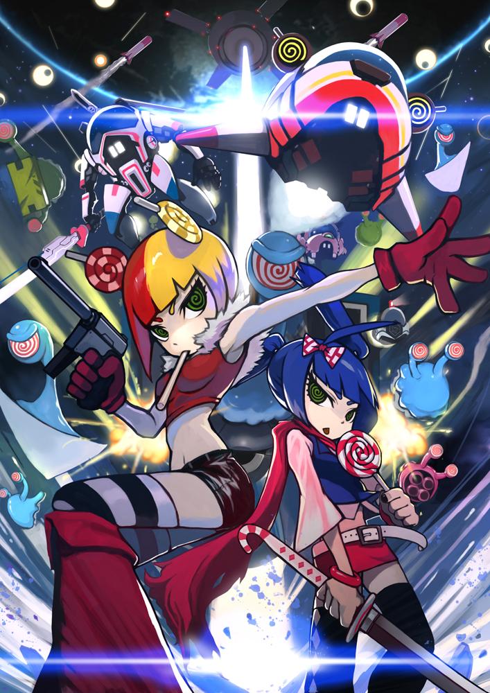 Space Lollipop : double remix by DigitalOme