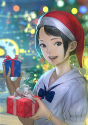 Cute Christmas by DigitalOme