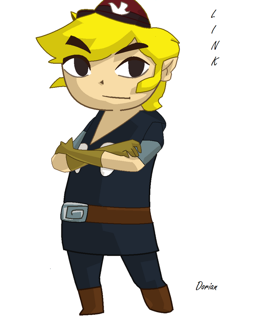 Toon Link Spirit Tracks by Narohl on DeviantArt