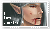 I love vampires stamp by orchidkitty