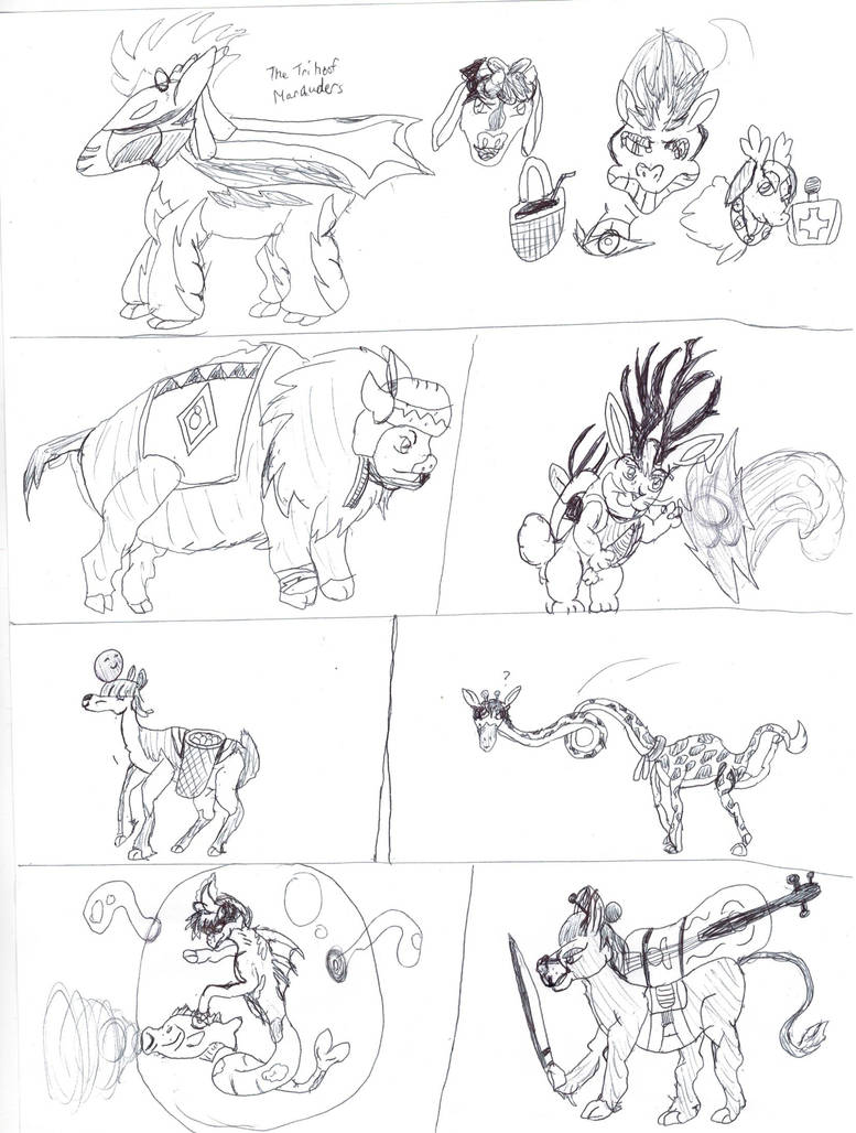 Them's Fightin Herds OC Extras by SuperHurricane