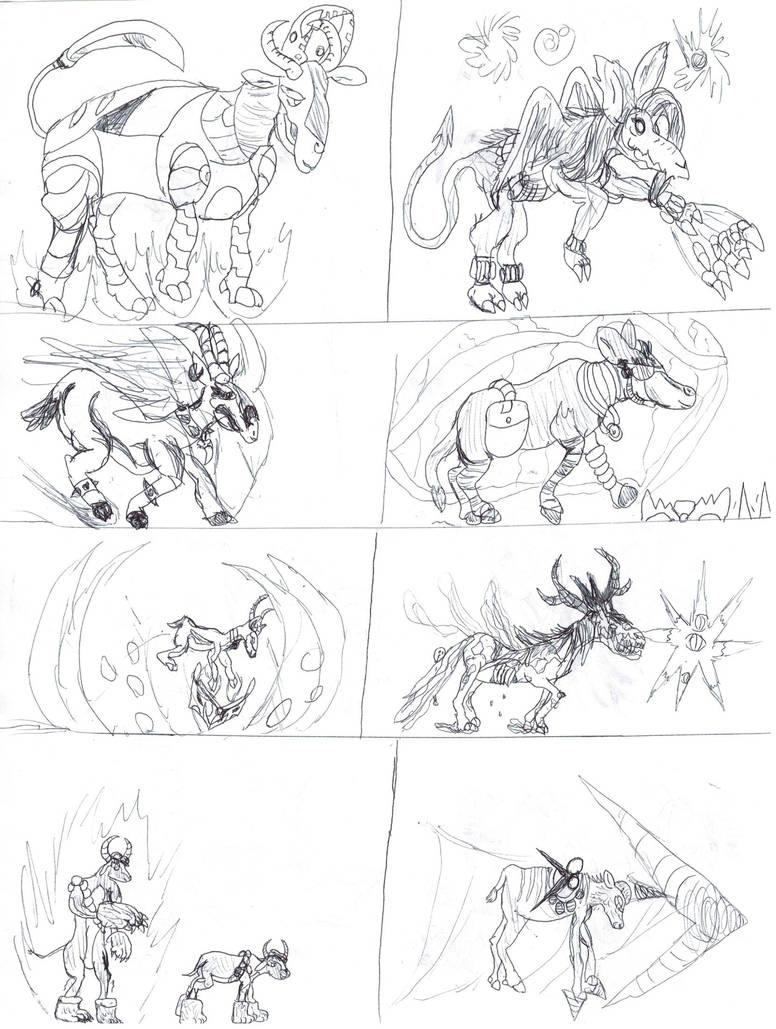 Them's Fightin Herds OC Extras 2 by SuperHurricane