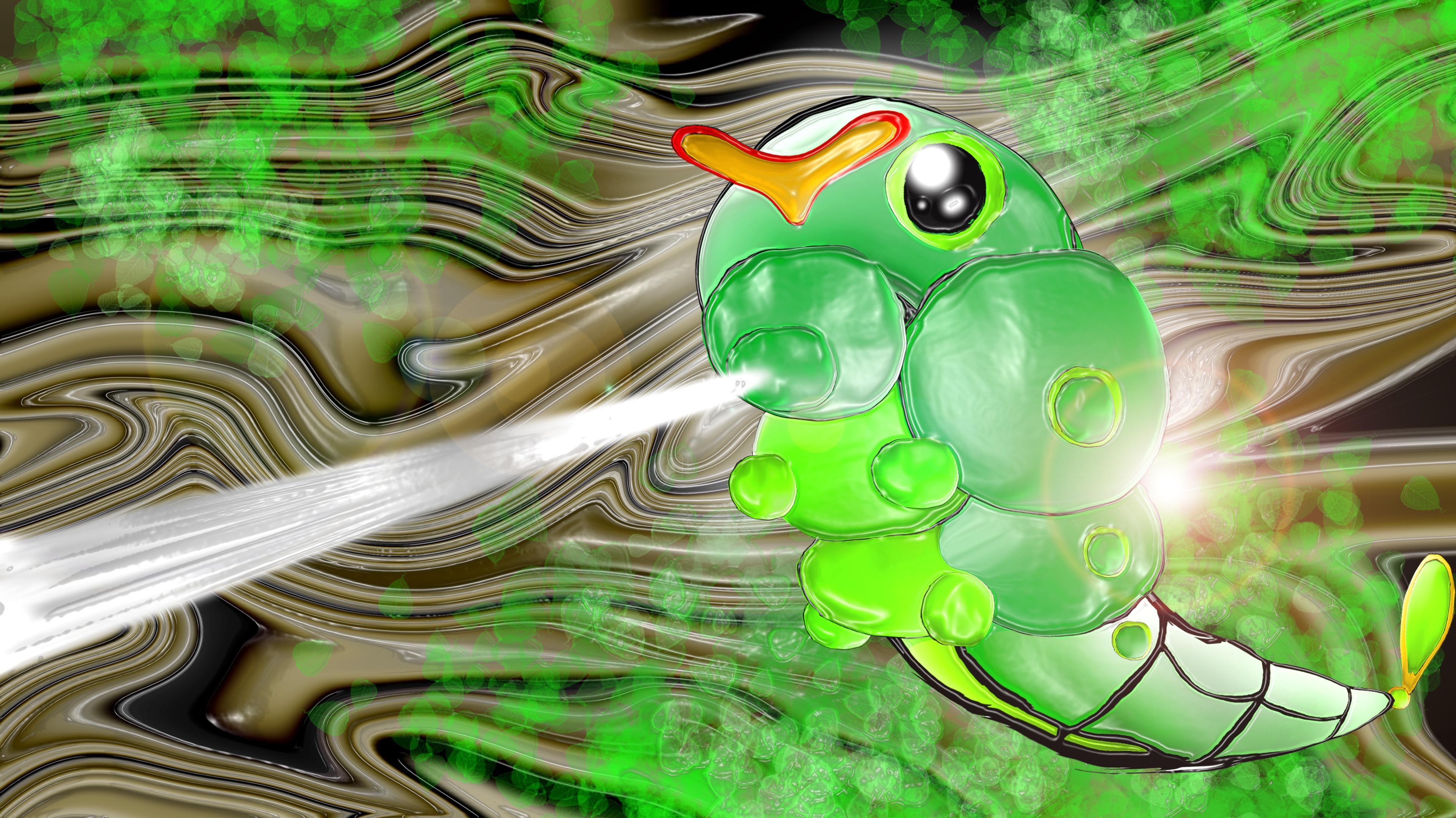Caterpie Pokemon Fan Art 529486348