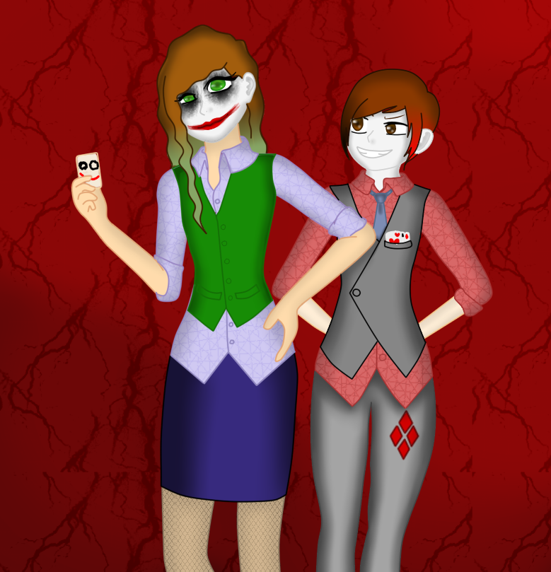 when u and bae dress up as genderbent villains by torixyz
