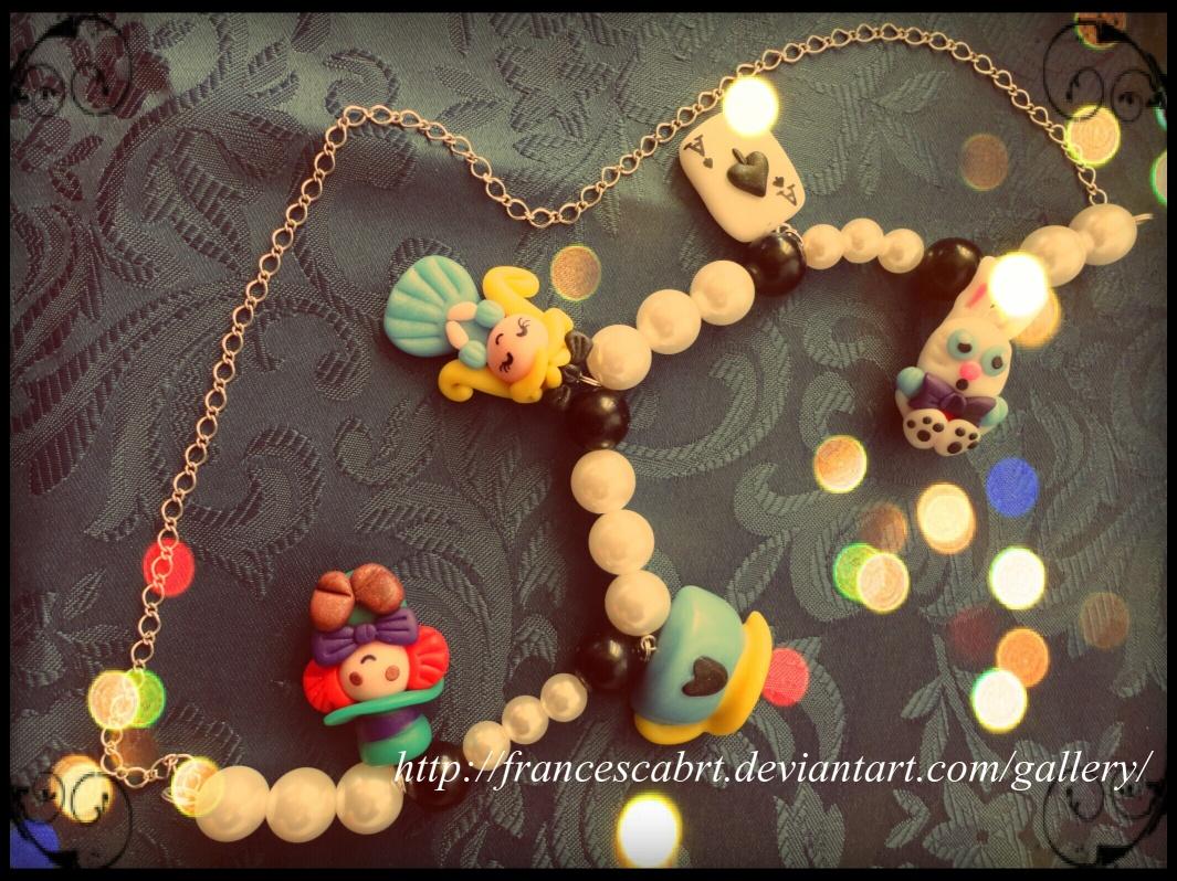 Necklace Alice in Wonderland-Collana Alice by FrancescaBrt