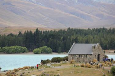The church by Lake Tekapo by hyperxdragon