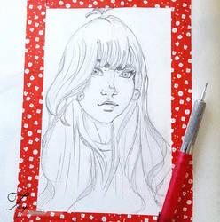 Fay Portrait by Haeneule
