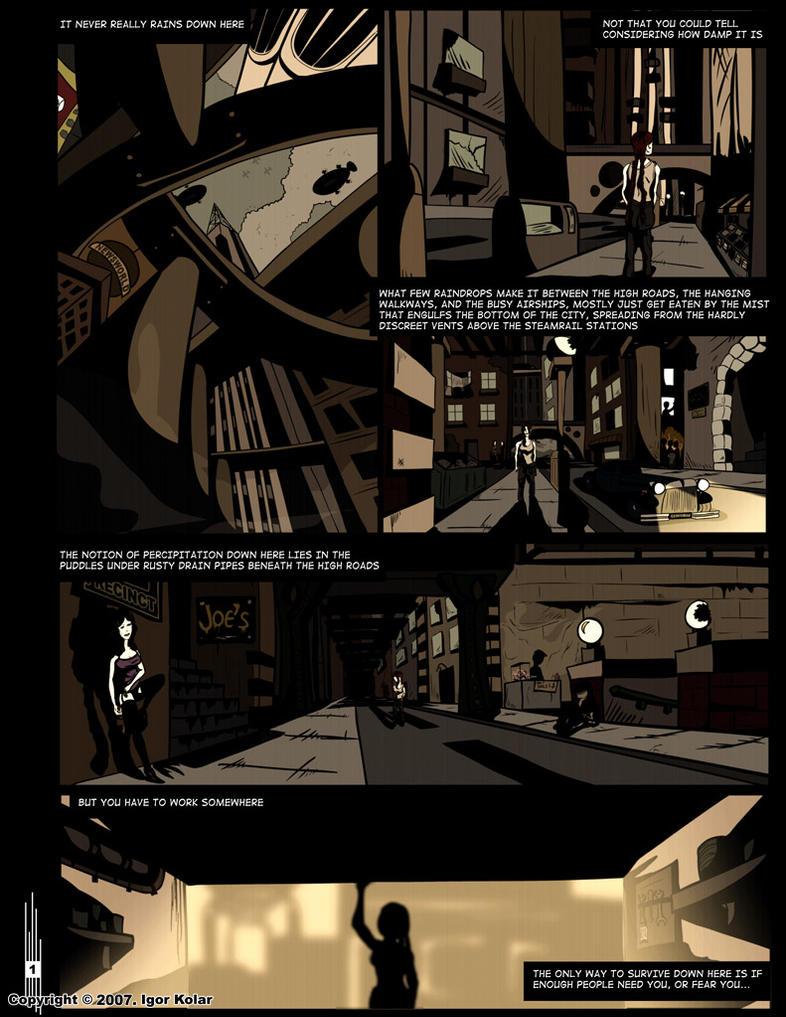 Centropolis _ page 1 by Obeah