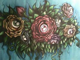 Eyeflower - Watercolor
