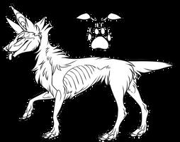 Free Canine Base by NVSTY