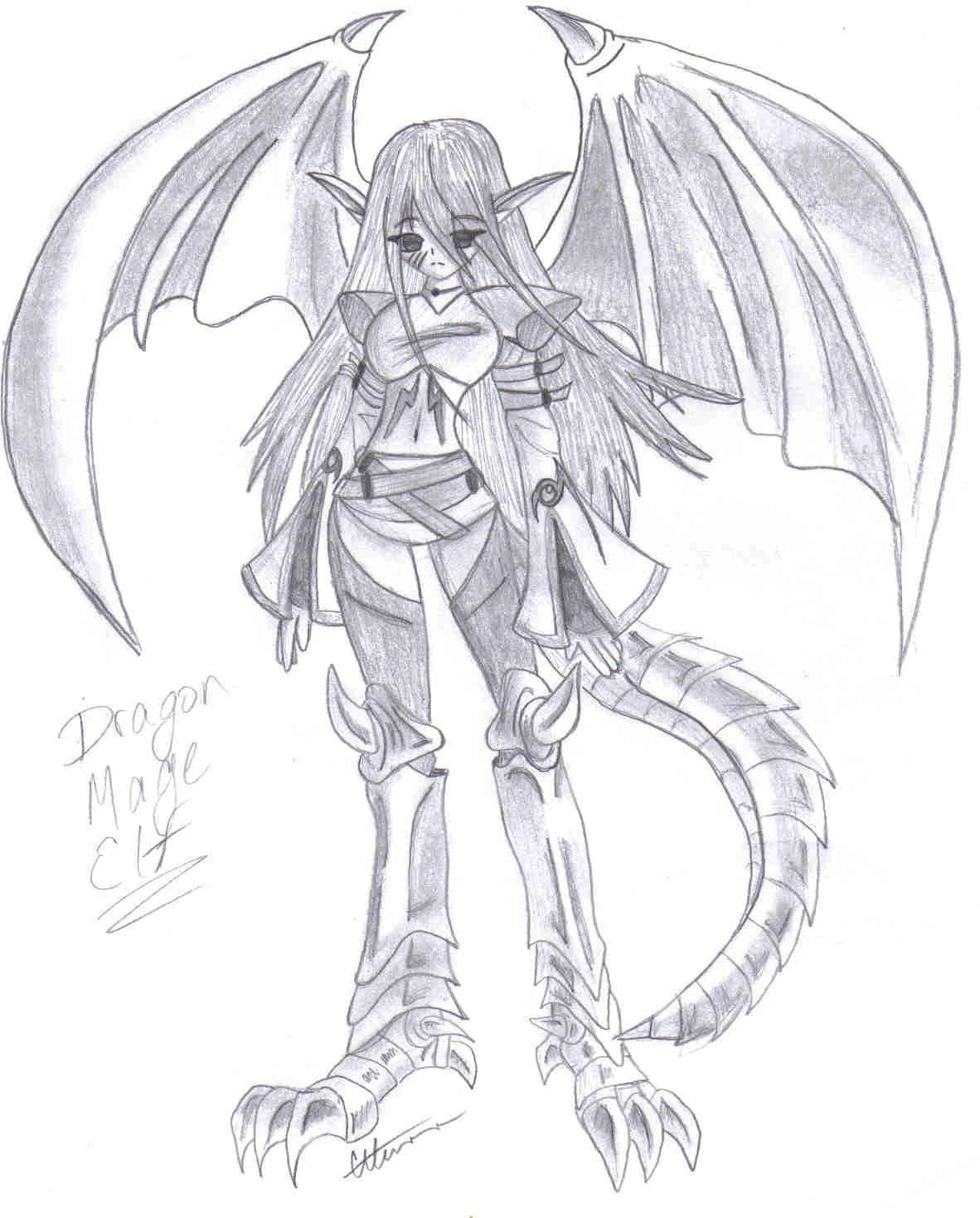 A cool dragon girl by Corky-Lunn on DeviantArt