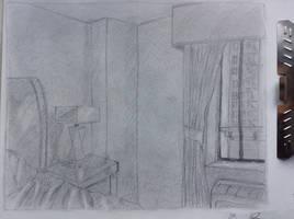 Hotel Room by Benjorr