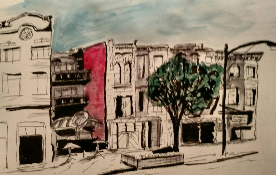 Division Street, Chicago by Benjorr
