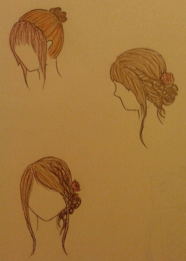 Hairstyles Sketch By Alysstherednosed On Deviantart