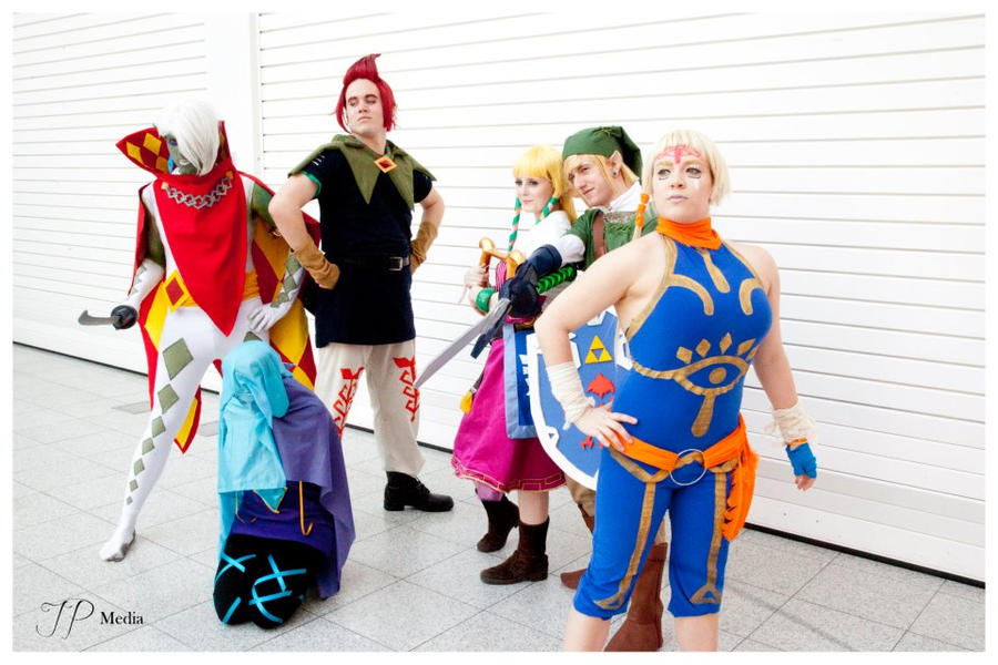 Skyward Sword Group by Tif9123