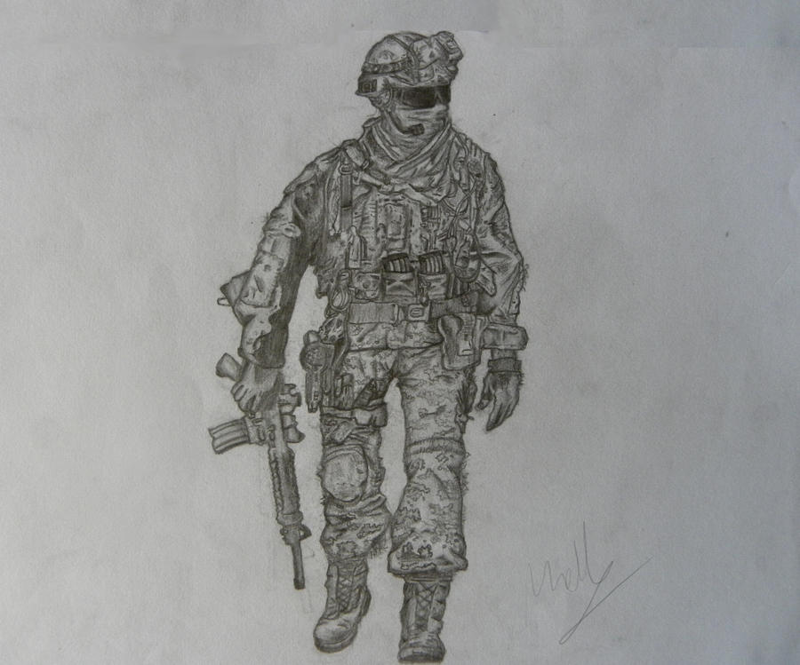how to draw call of duty