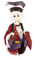 Art Trade: Axis - xPsychandelic by kokeshi-tan
