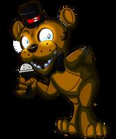 Freddy Fazbutt by theStupidButterfly