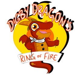 Digby's Ring of Fire Logo