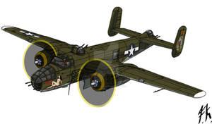 North American B-25J Mitchell