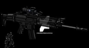 XT-107 Assault Rifle