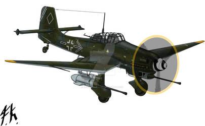 Junkers Ju-87 G-2 The Last Flight