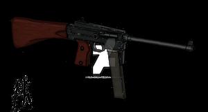 MAS Model 38 Submachine Gun