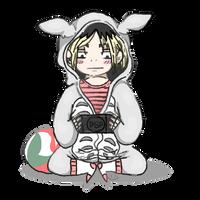 Kenma in Totoro onesie