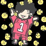Kuroo Doodle by Brookfan
