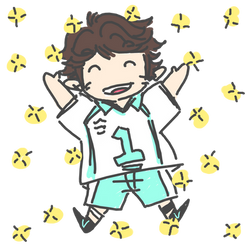 Oikawa Doodle by Brookfan