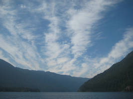 lake crescent by amandaxautomatic