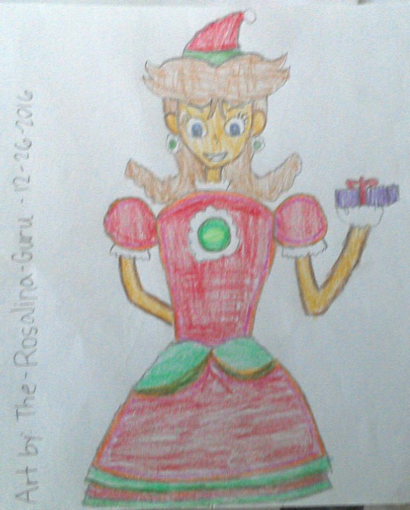 Christmas Daisy by The-Rosalina-Guru